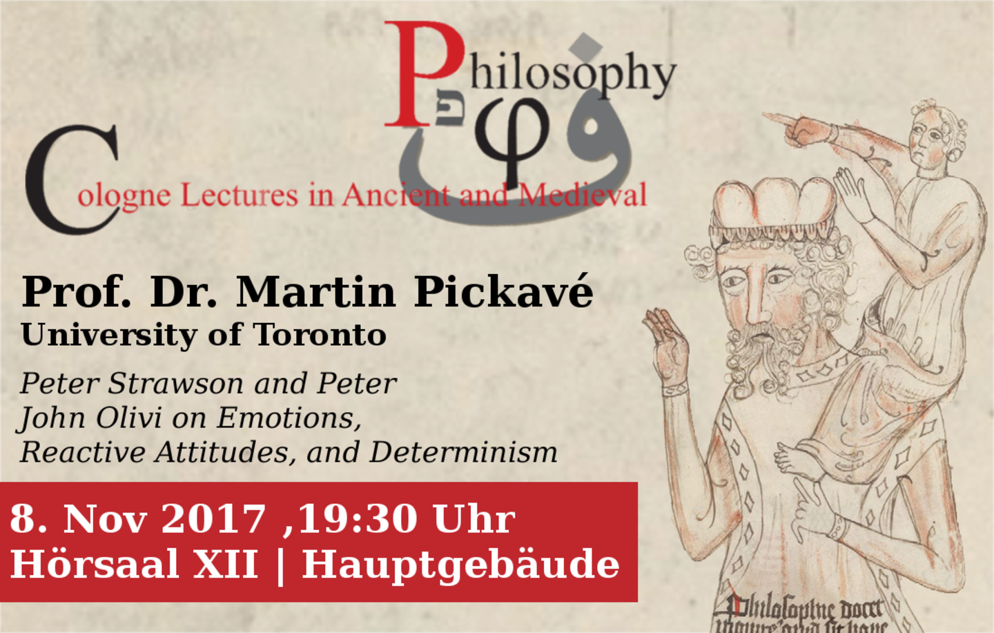 Cologne Lectures on Ancient and Medieval Philosophy
